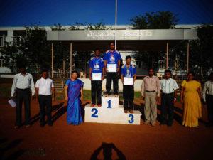 Annual Sports Meet Prize Winners