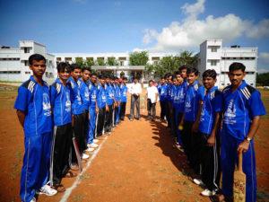 Annual Sports Meet Final Cricket Teams